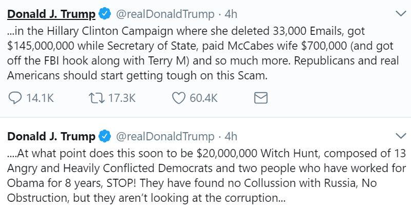 TT Clinton corruption