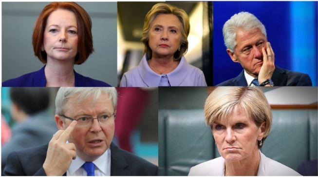 australia clinton foundation