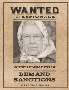 Wanted Queen Elizabeth